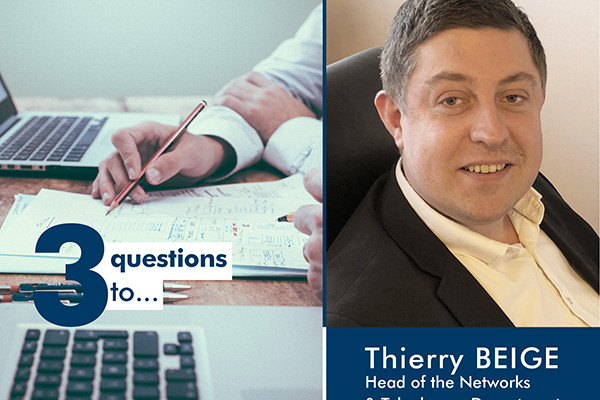 3 questions for Thierry Beige: an all-round talent in IT security operations