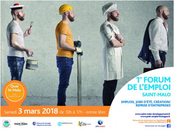 Retrouvez le Groupe Roullier sur le forum de l'emploi de Saint-Malo le samedi 3 mars !