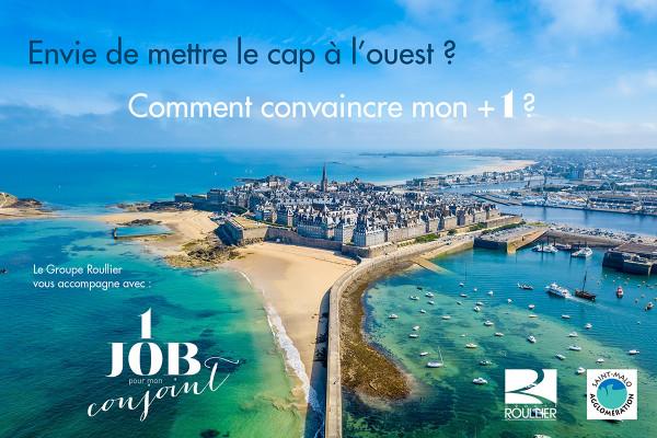 « Un job pour mon conjoint » : nouvelle initiative de Saint-Malo agglomération !
